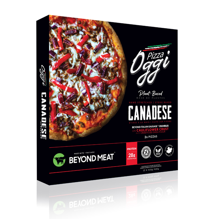 gluten free pizza beyond meat vegan